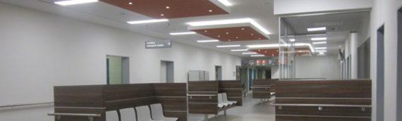 Städtisches Klinikum Solingen – Wartebereich Radiologie // Solingen